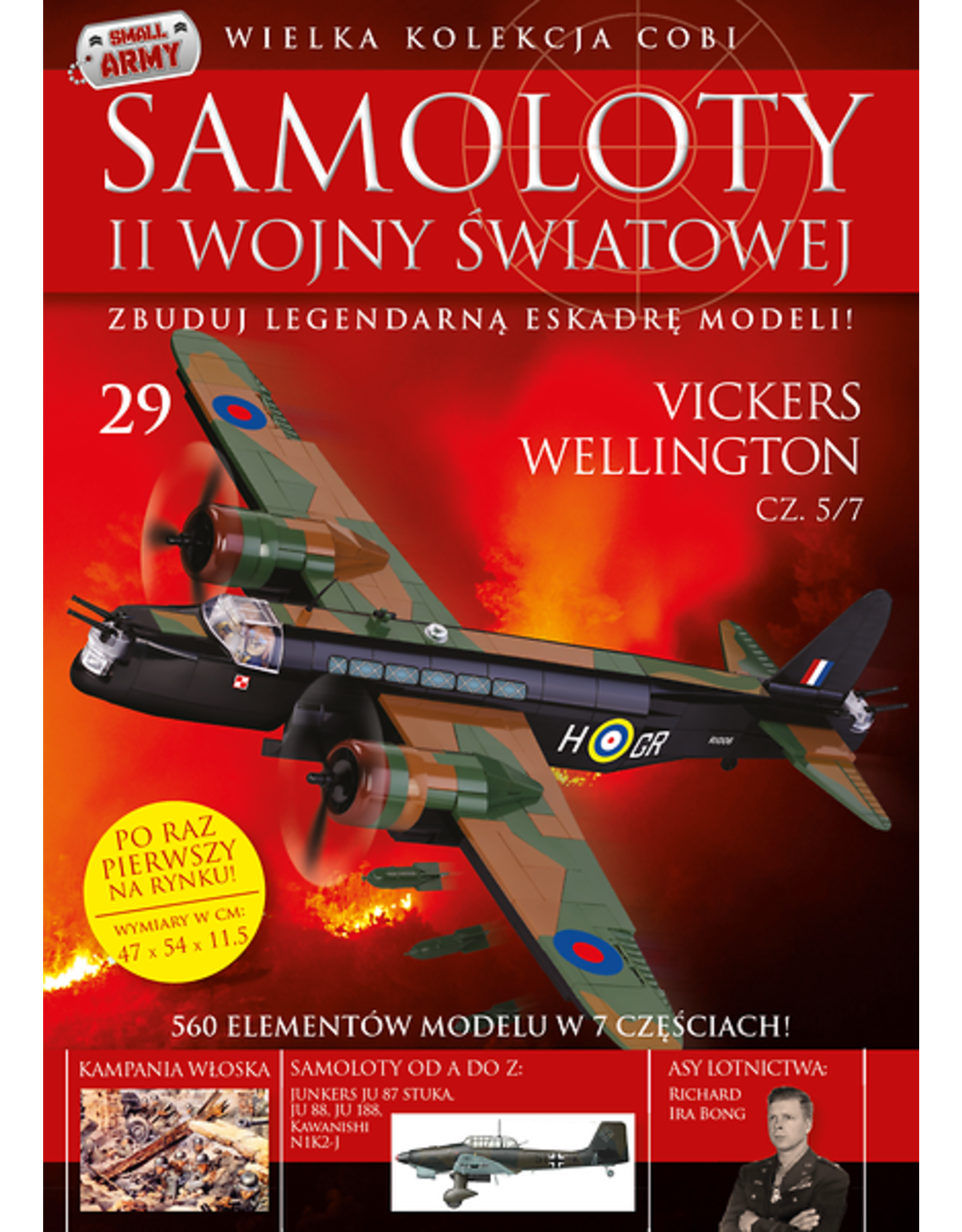 COBI COBI  WW2 Zeitschrift - nummer 25-31 Flugzeug