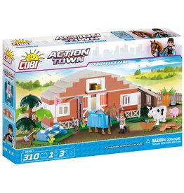 COBI COBI Action Town 1875 - Buitenleven Boerderij