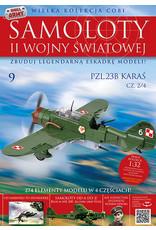 COBI COBI  WW2 Zeitschrift - nr 8-11 PZL23B Karas
