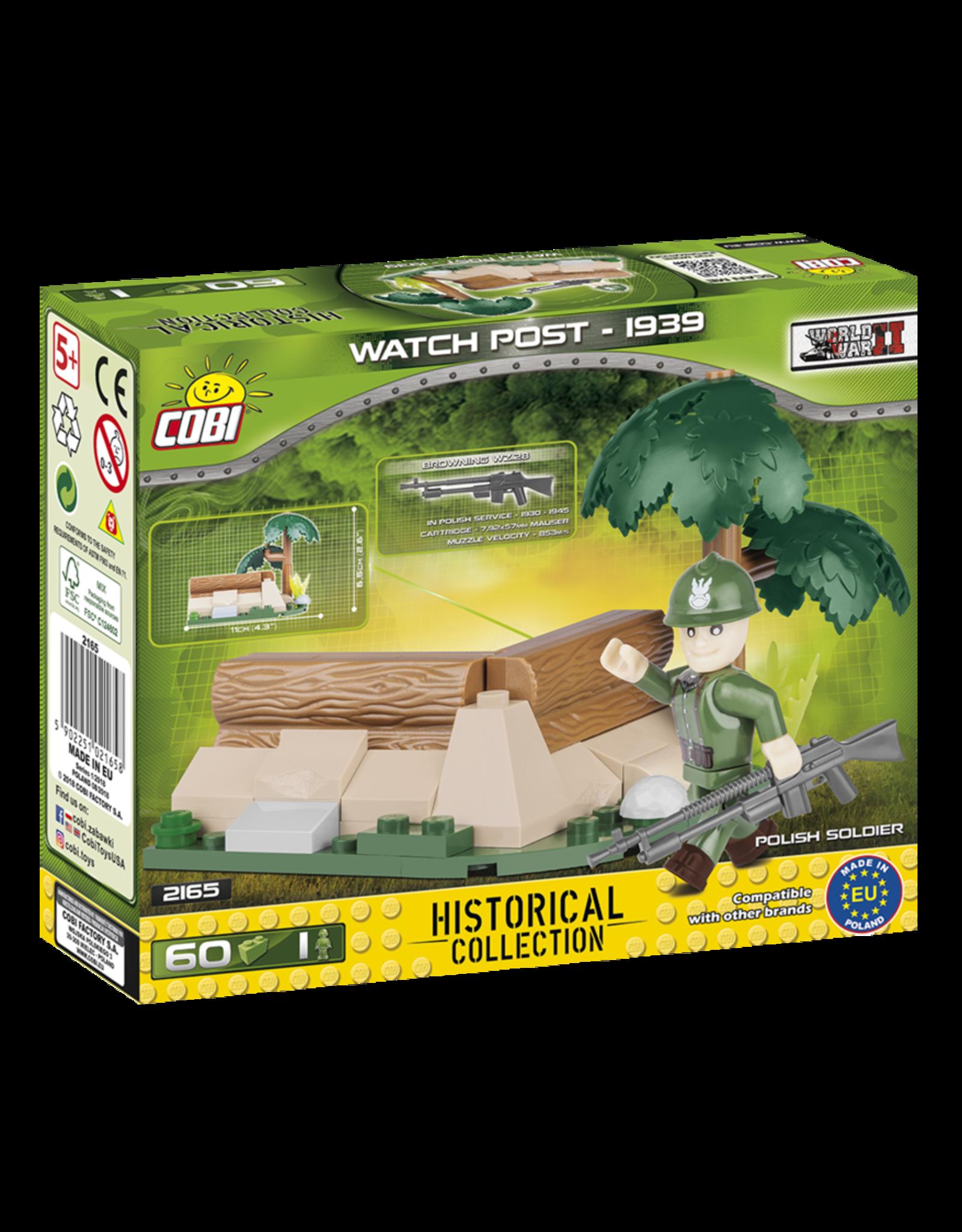 COBI COBI WW2 2165 - Watchpost 1939