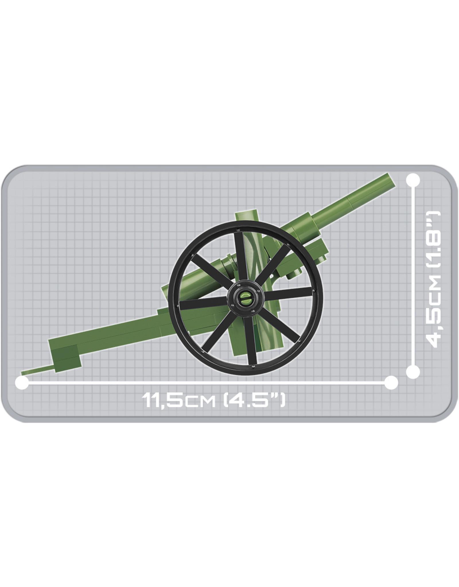 COBI COBI WW1 2979 - Schneider Gun 75mm