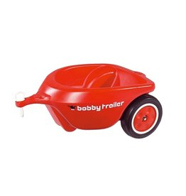 BIG BIG Bobby Car aanhanger rood