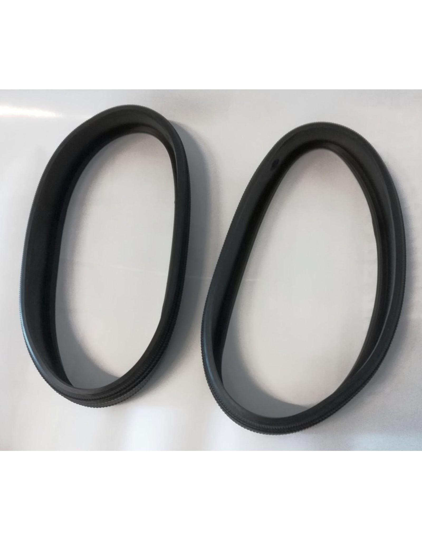 BIG BIG Slijtband rubber voor 2x