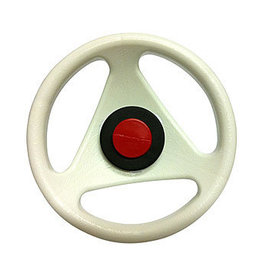 BIG BIG Bobby Car Classic steering wheel white