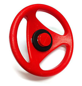 BIG BIG Bobby Car Classic steering wheel red