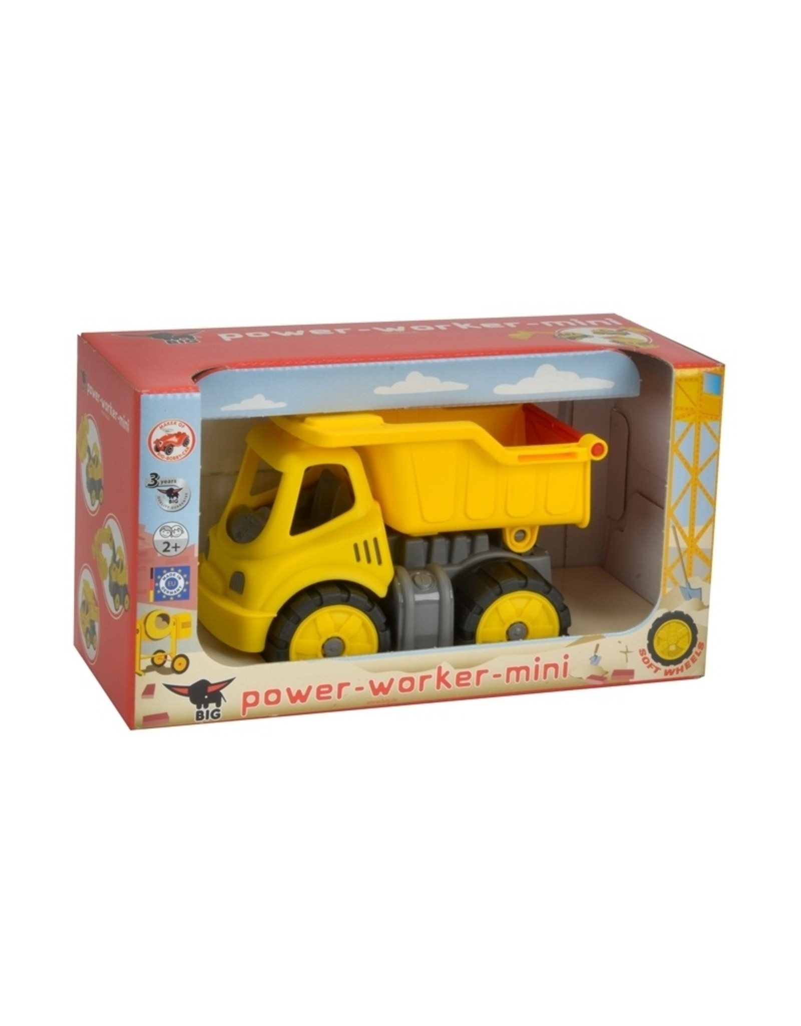 BIG BIG Power Worker Mini Kiepwagen