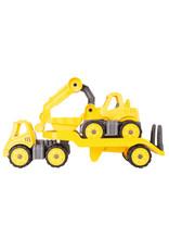 BIG BIG Power Worker Mini Transporter + Bagger