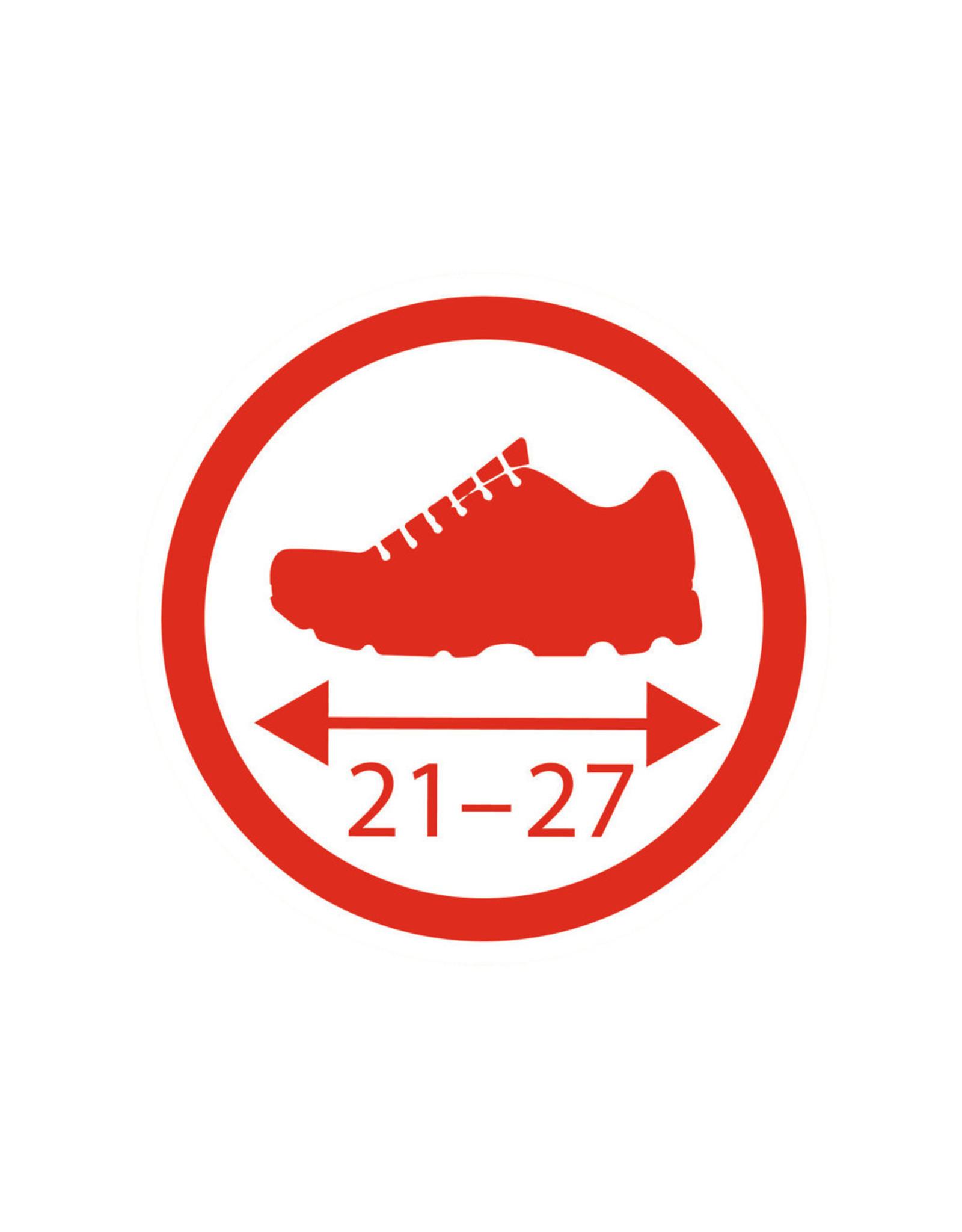 BIG BIG Schoenbeschermers rood