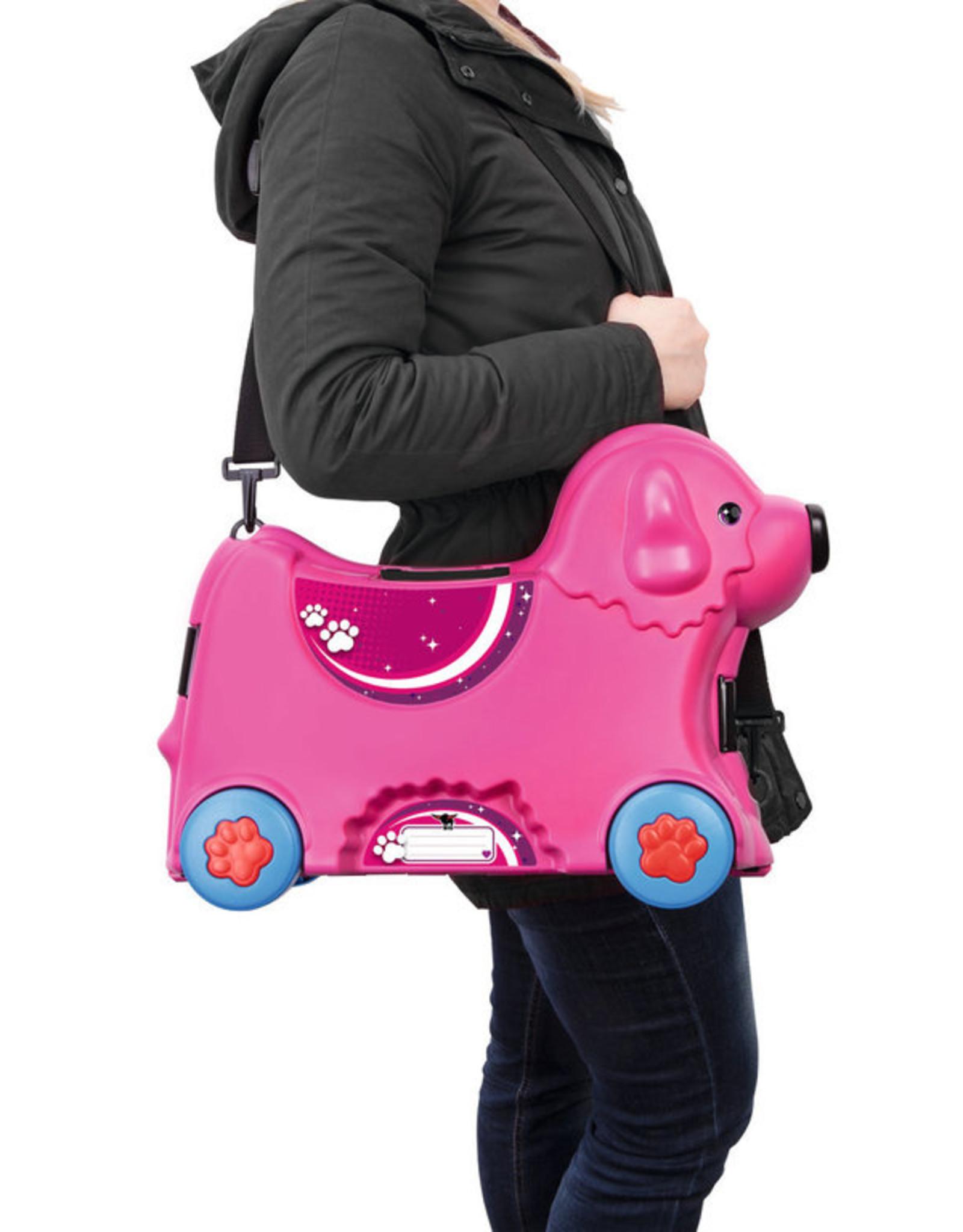 BIG BIG Bobby Trolley roza