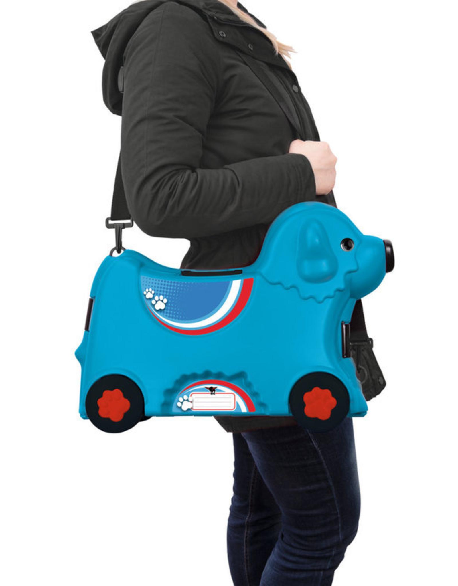 BIG BIG Bobby rolkoffer blauw