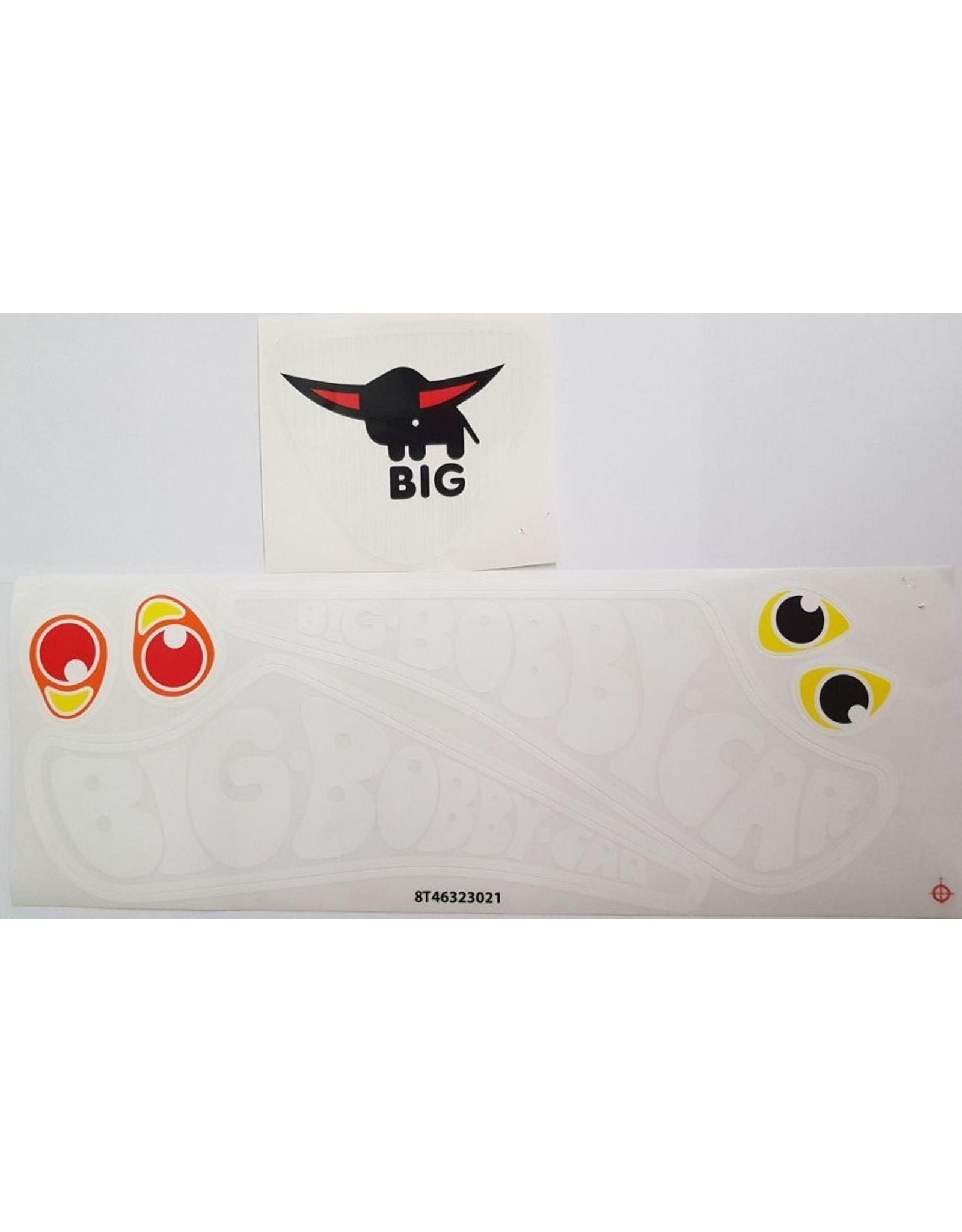 BIG BIG Bobby Car classic stickerset