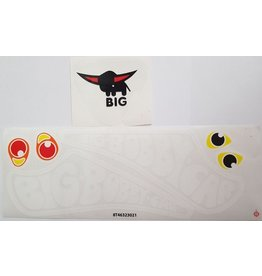 BIG BIG Bobby Car sticker set