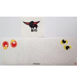 BIG BIG Bobby Car stickerset