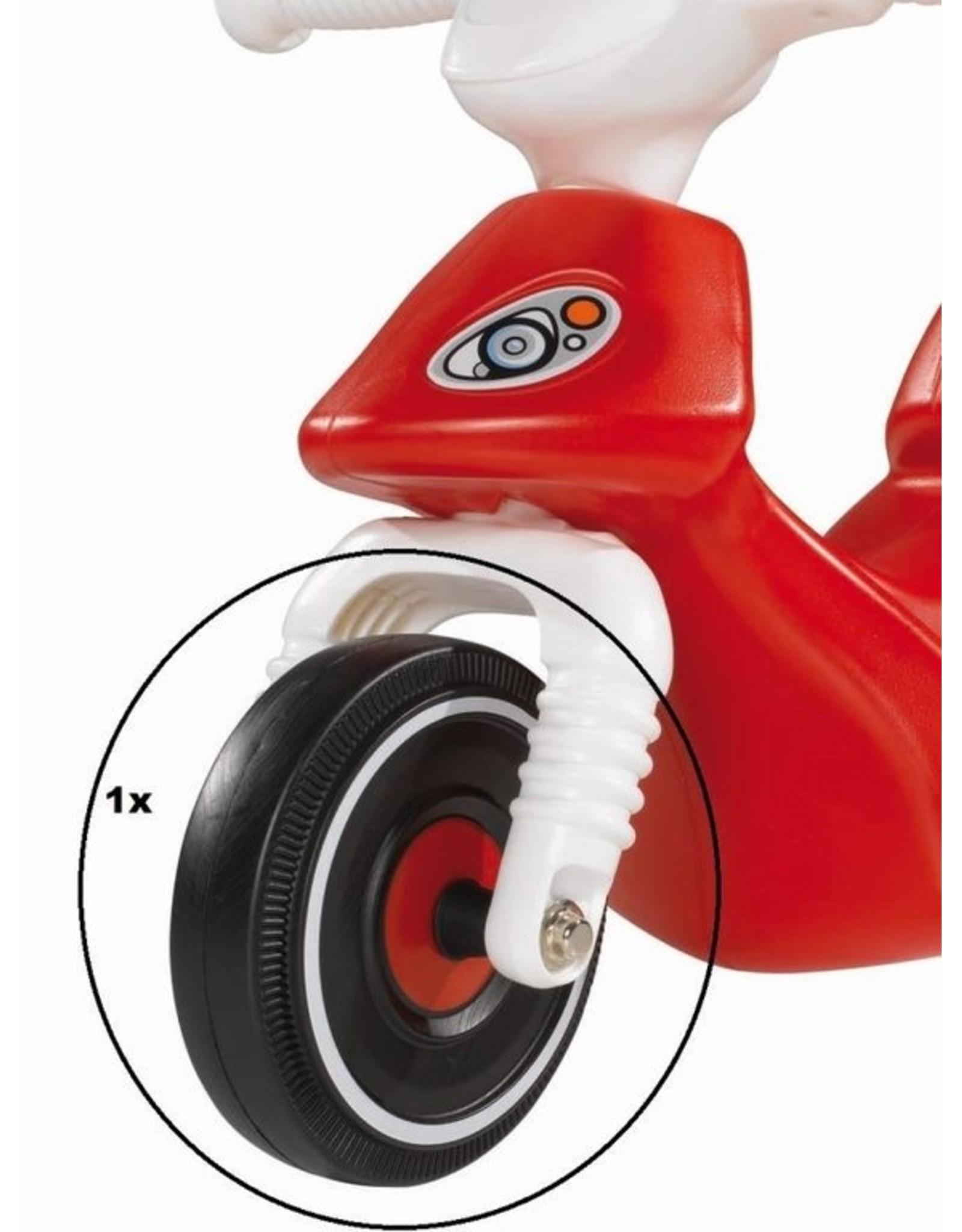 BIG BIG Bobby Scooter Vorderrad schwarz-rot