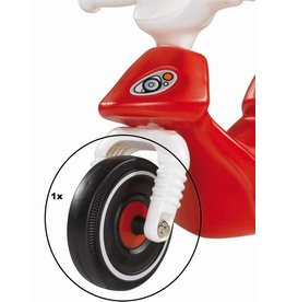 BIG BIG Bobby Scooter front wheel black-red