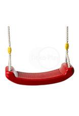 Déko-Play Déko-Play kunststof schommelzitje rood