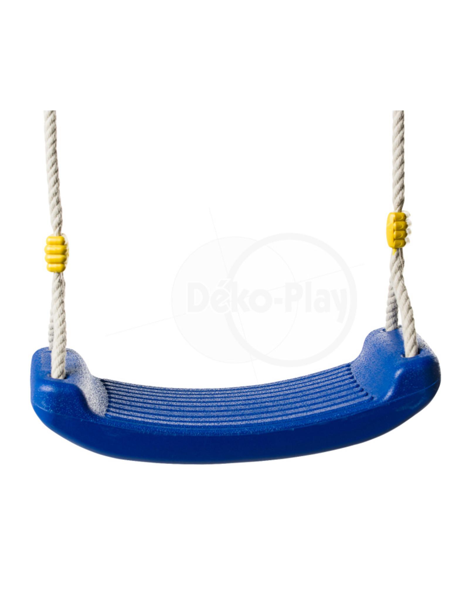 Déko-Play Déko-Play kunststof schommelzitje blauw