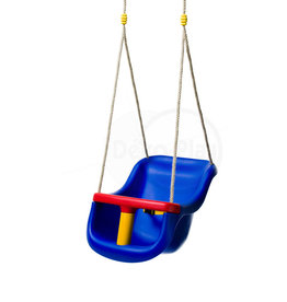 Déko-Play Déko-Play toddler swingseat Blue with PH ropes