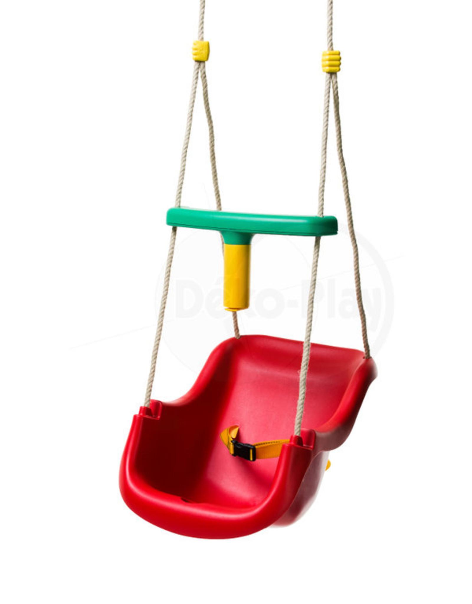 Déko-Play Déko-Play peuter schommelstoel Blauw met PH touwen