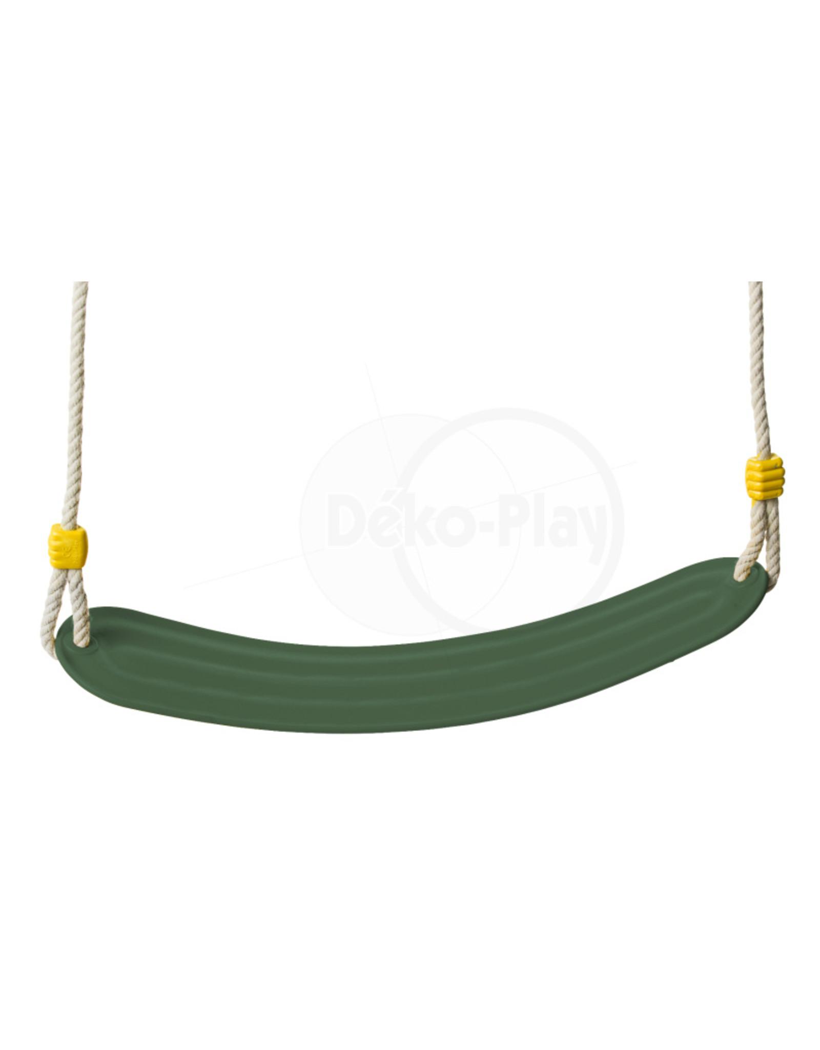 Déko-Play Déko-Play schommelzitje flexibel kunststof groen