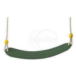 Déko-Play Déko-Play swing seat flexible plastic green
