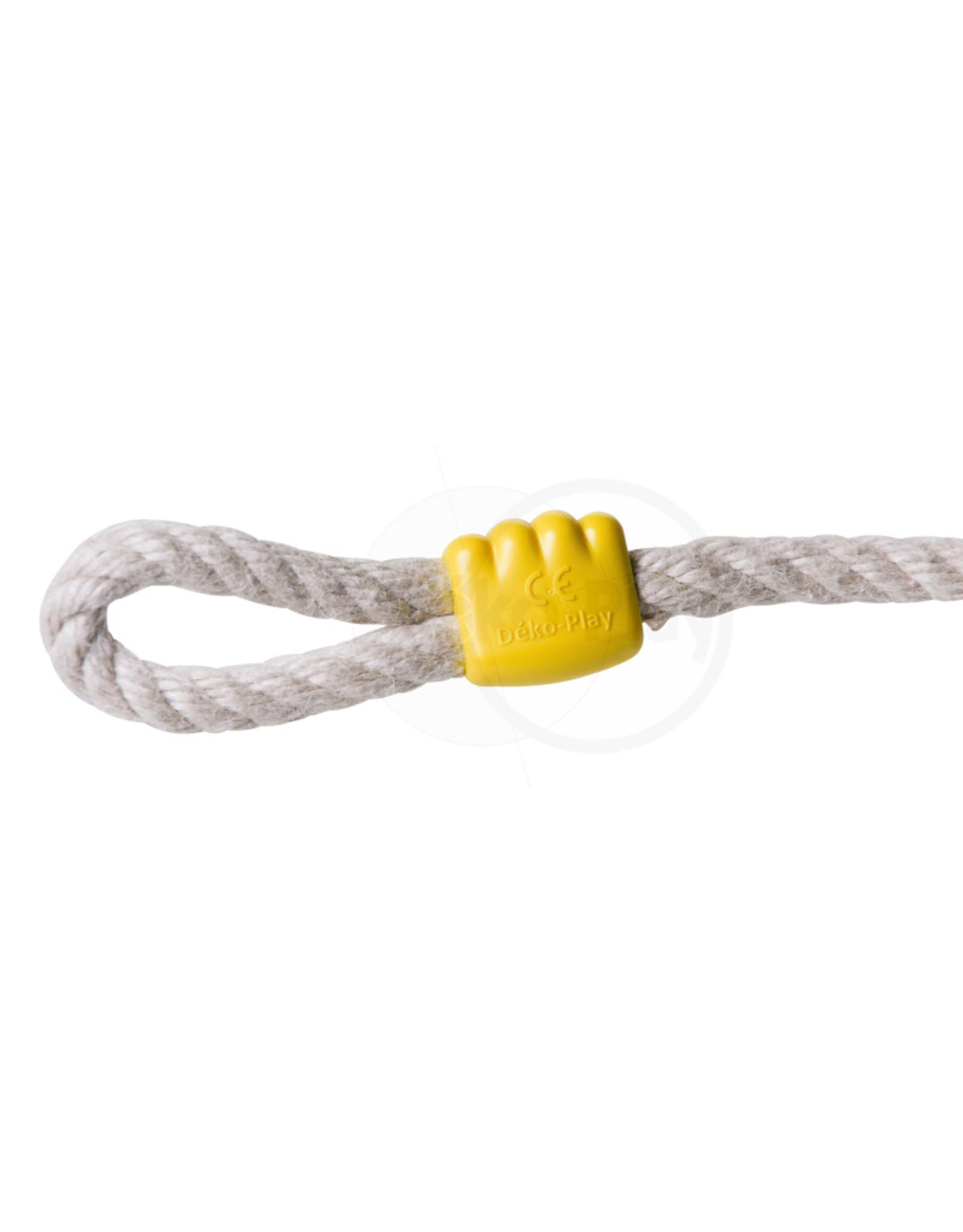 Déko-Play Déko-Play schommelzitje flexibel kunststof geel