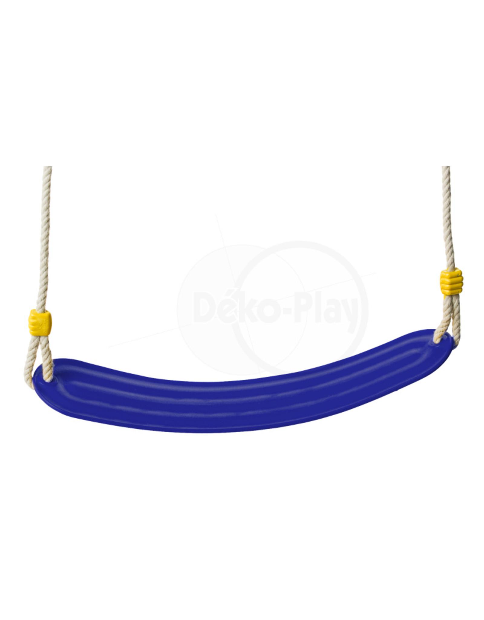 Déko-Play Déko-Play schommelzitje flexibel kunststof blauw