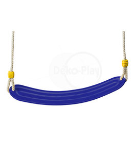 Déko-Play Déko-Play swing seat flexible plastic blue