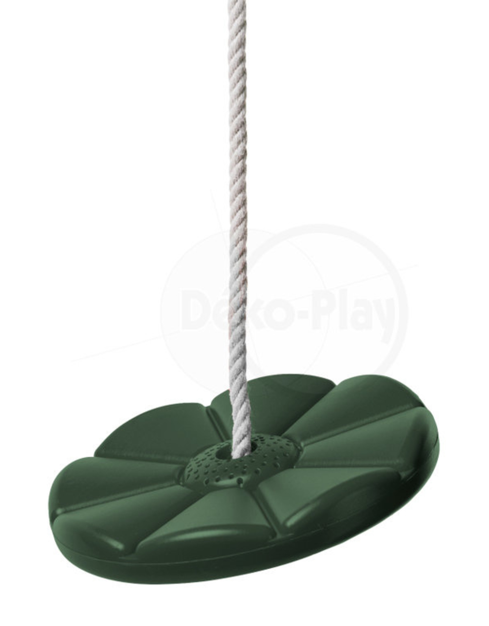 Déko-Play Déko-Play schotelschommel kunststof groen