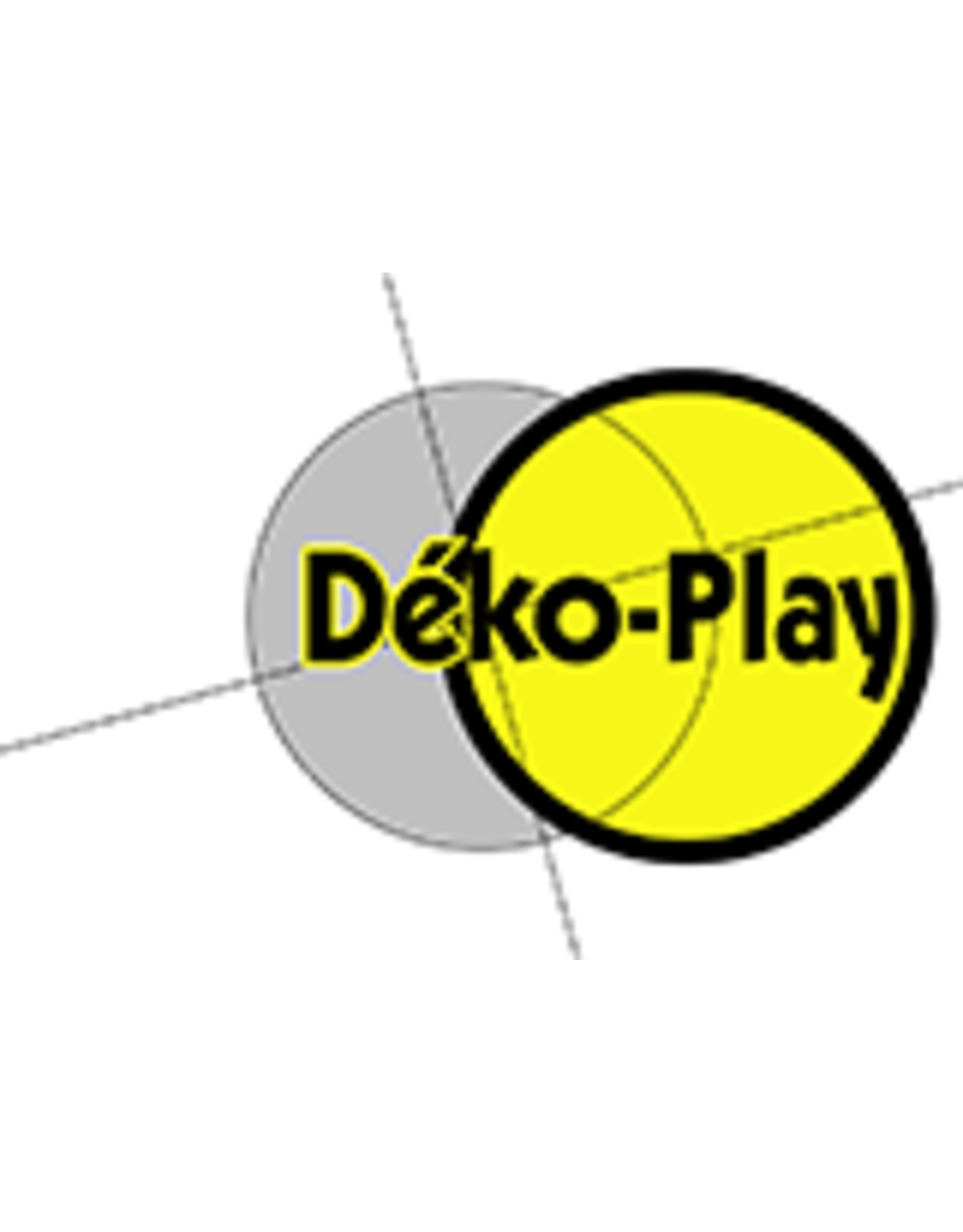Déko-Play Déko-Play duikelstang rood gecoat lengte 90cm