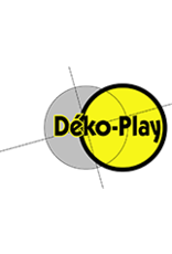Déko-Play Déko-Play Trapez mit Vollkunststoffringe Dreieck blau