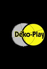 Déko-Play Déko-Play massief kunststof driehoeksringen blauw