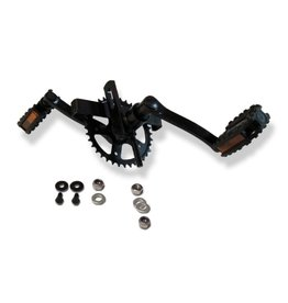 BERG BERG Trapas, Cranks (140 - 36T) en pedalen