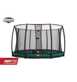 BERG BERG Inground Champion Green 430 + Safety Net Deluxe