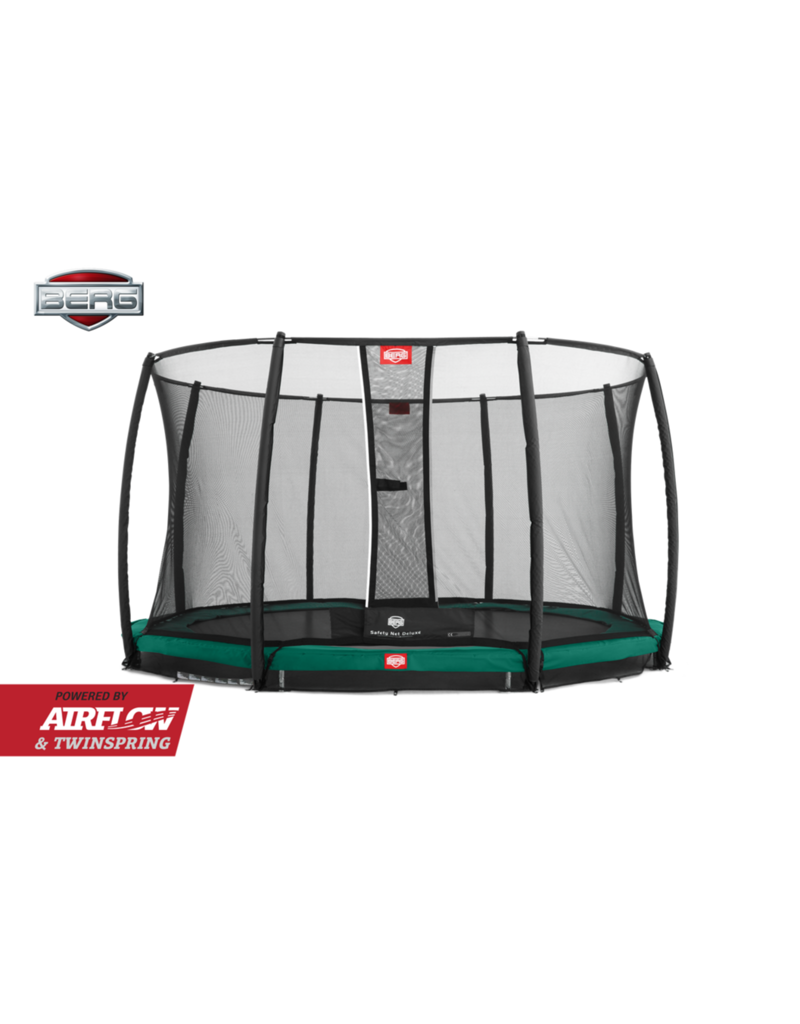 BERG BERG Inground Champion Green 270 + Safety Net Deluxe