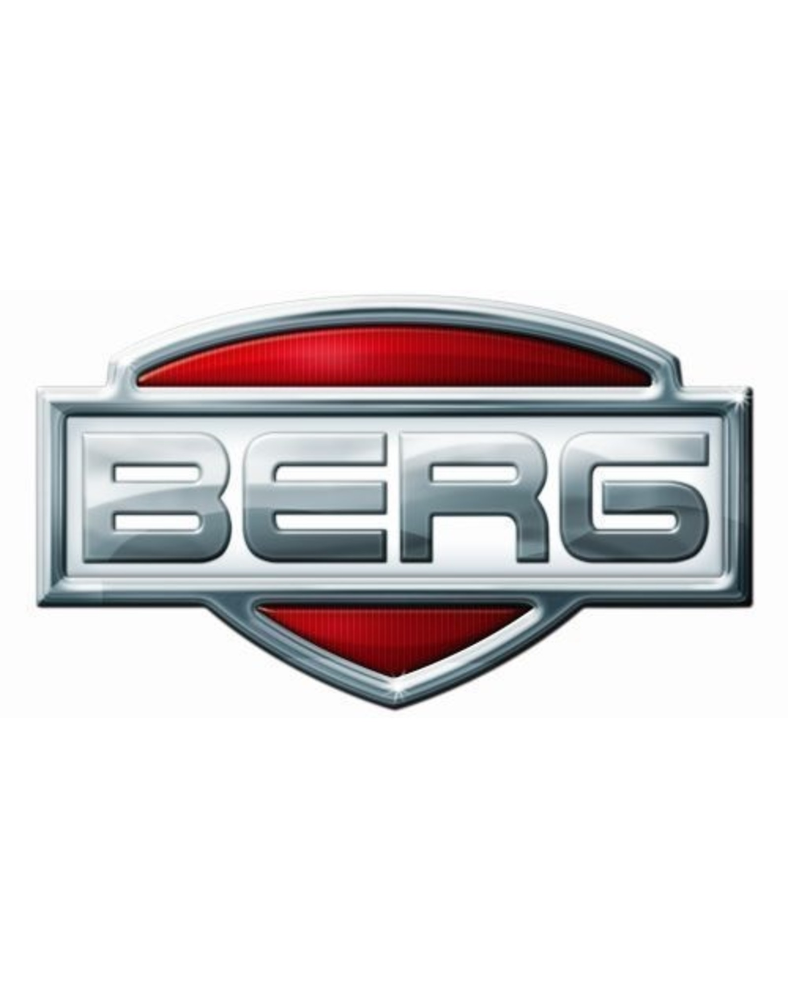 BERG BERG Buddy wiel 12,5X8 zwart slick witte streep
