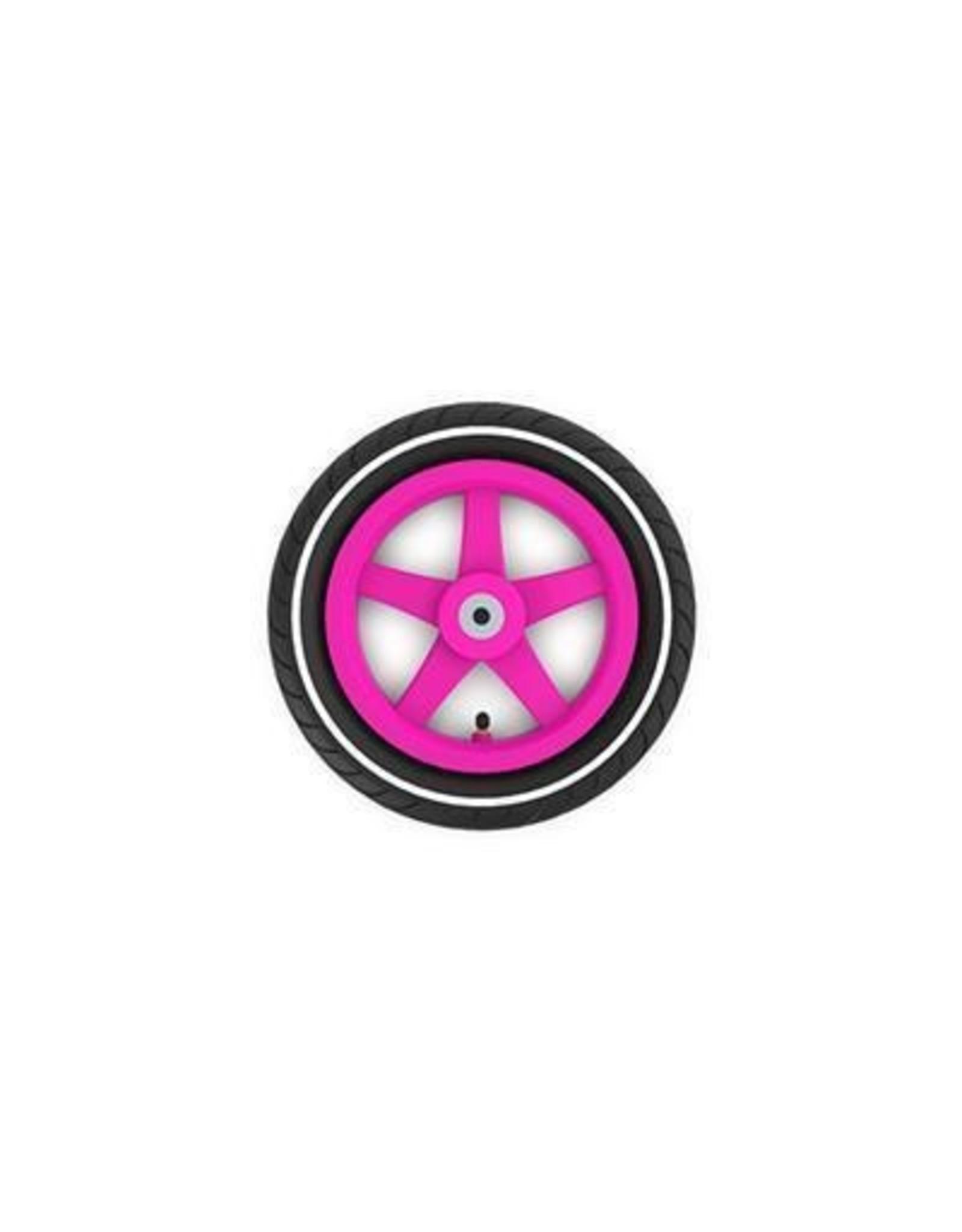 BERG BERG Buddy wiel 12,5X8 roze slick witte streep