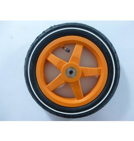 BERG BERG Buddy Wheel 12,5X8 orange slick with white stripe