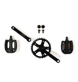 BERG Crankset 140, 36T with Pedals
