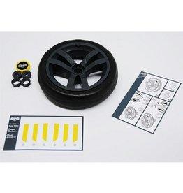 BERG BERG Buzzy - Rad grau-schwarz 9x2 (gelbe Kappe)