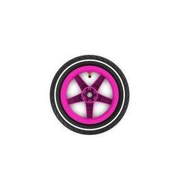 BERG BERG Buddy wiel 12,5X8 roze slick witte streep -aandrijf