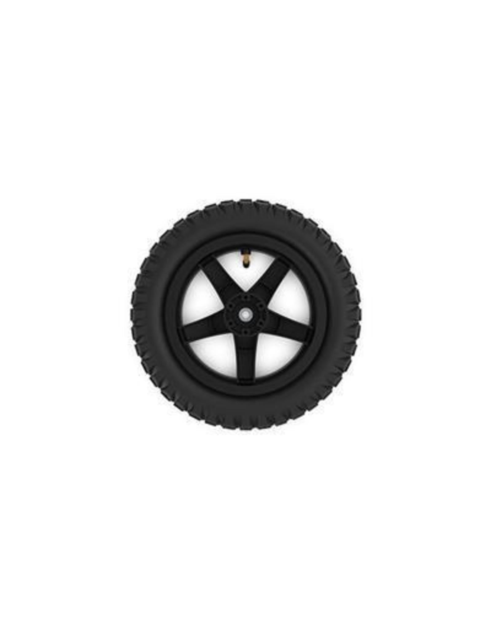 BERG BERG Buddy wiel 12,5X8 zwart cross -aandrijf