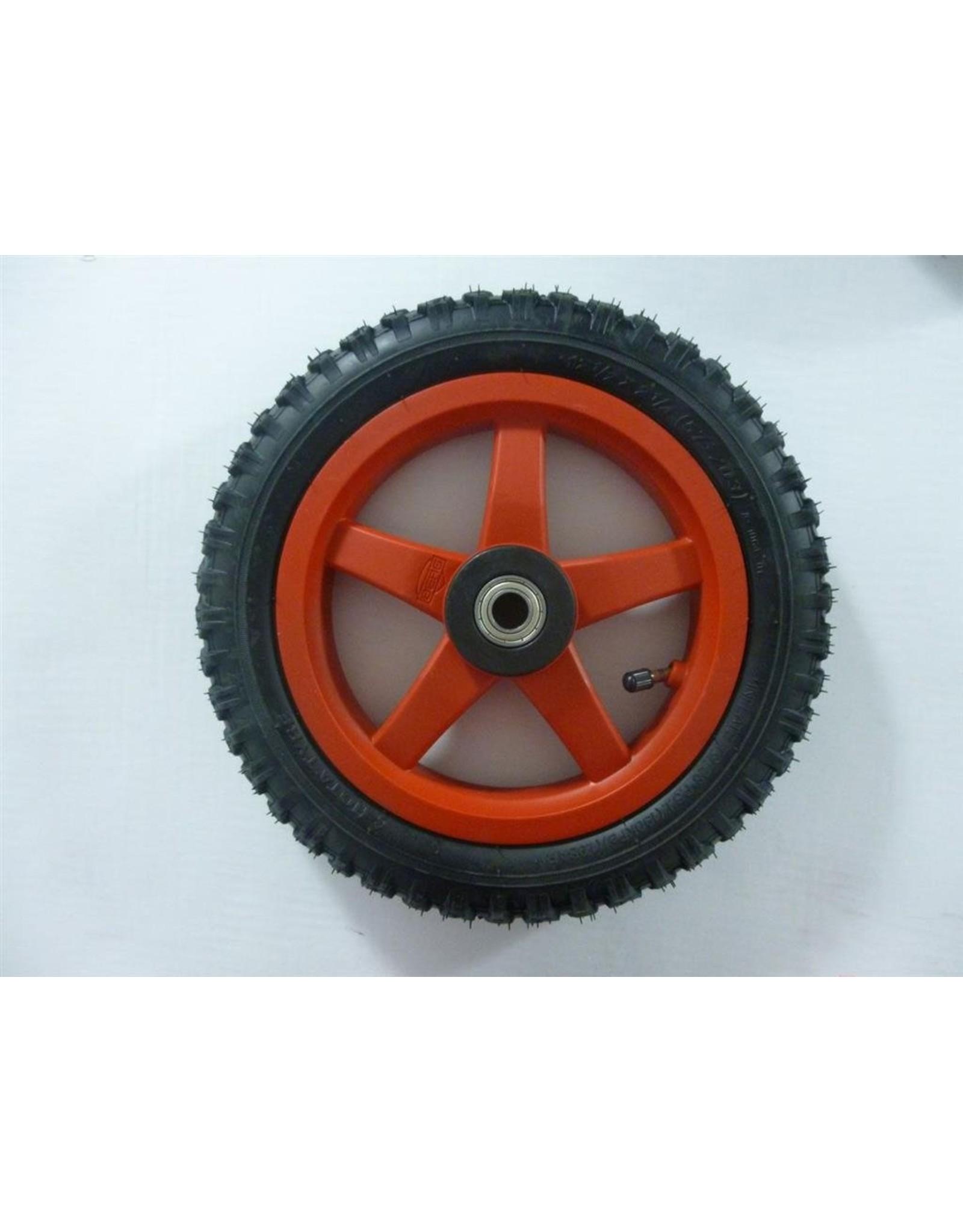BERG BERG Buddy wiel 12,5X8 rood All Terrain cross -aandrijf