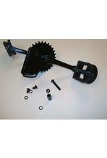 BERG BERG Rally - Trapas met crank set 110 + pedalen
