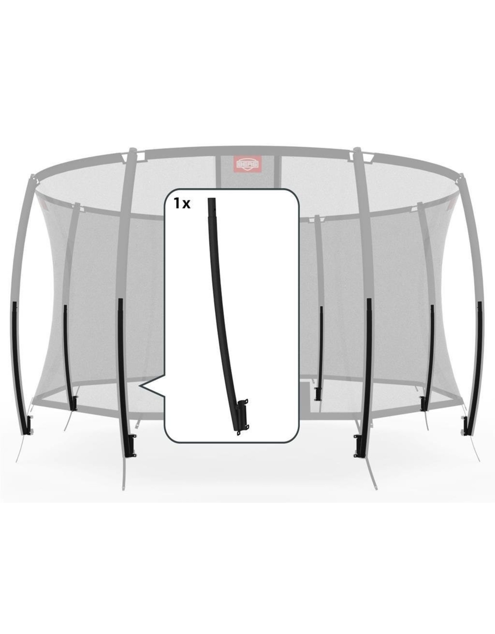 BERG BERG Safety Net Deluxe - Onderbuis gelast