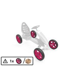 BERG Wheel pink 12.5x2.50-9 slick - BERG Rally