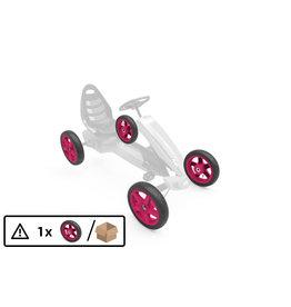 BERG Wiel roze 12.5x2.50-9 slick - BERG Rally