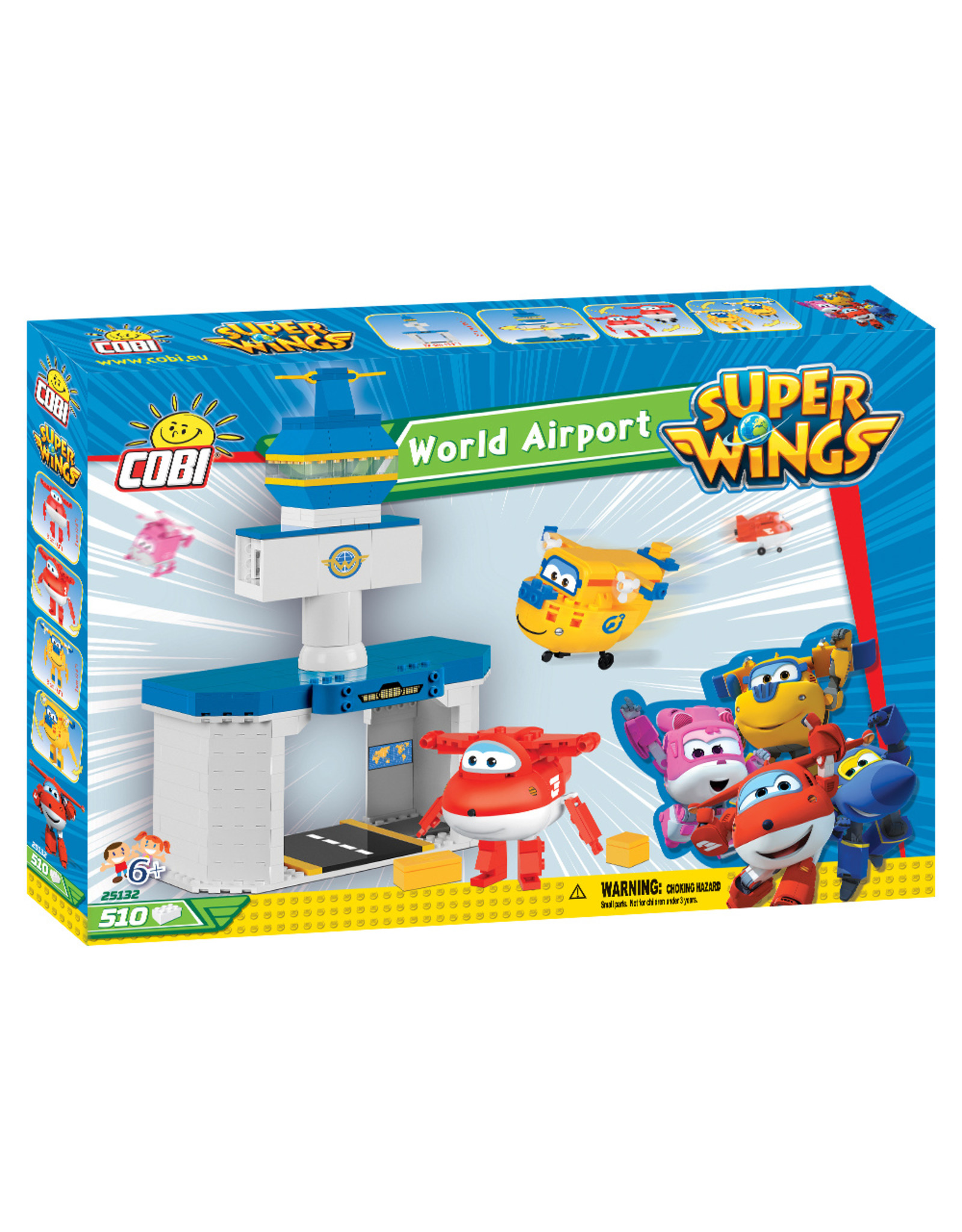 COBI Cobi  25132  Super Wings World Airport