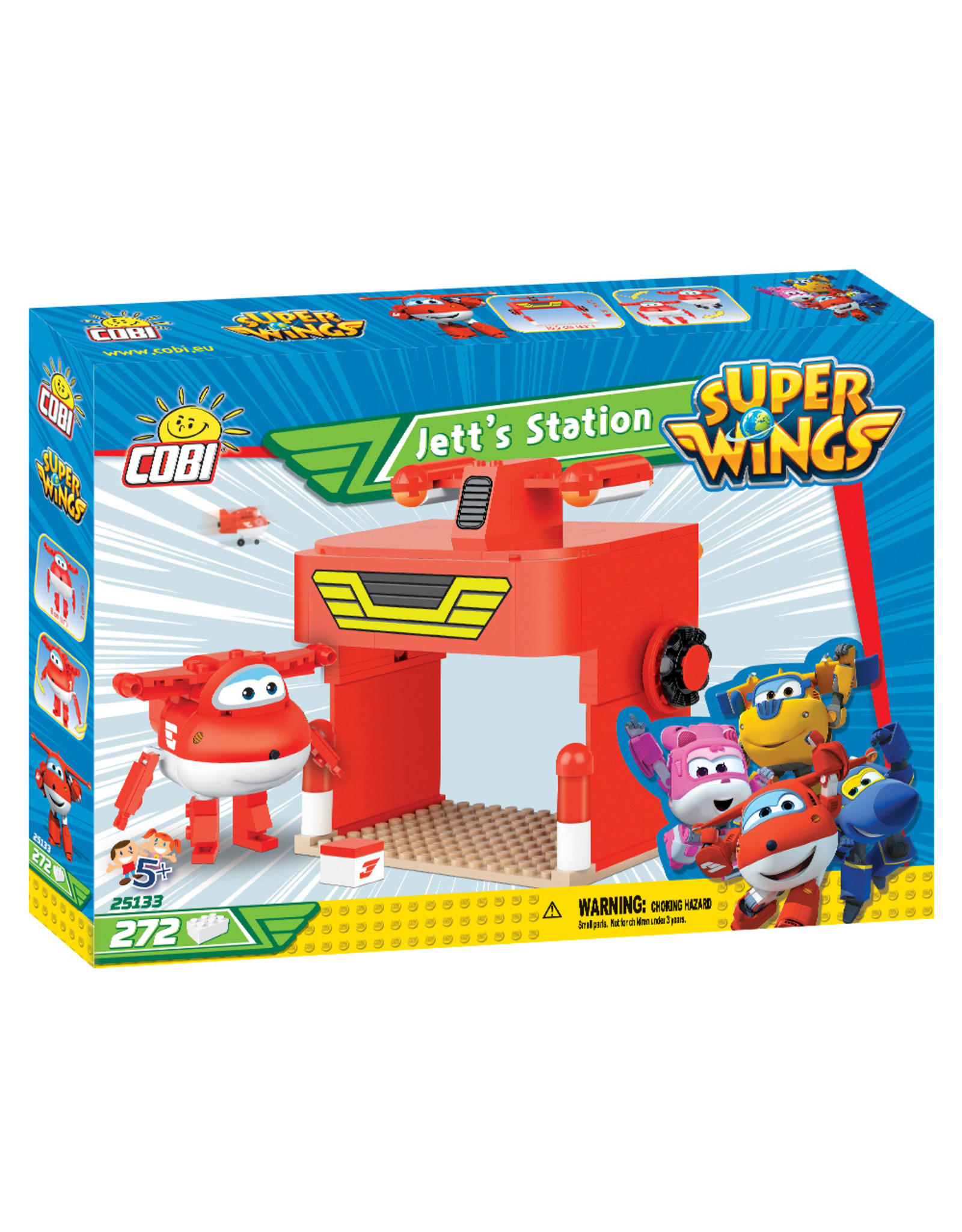 COBI Cobi 25133 Super Wings Jetts Station