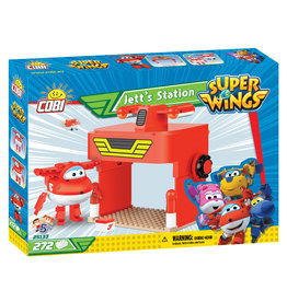 COBI Super Wings Jetts Station